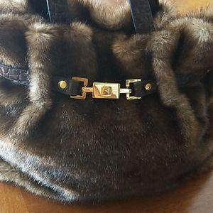 Tianni faux fur Handbag